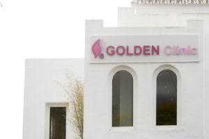 Fachada Golden Clinic Marbella Ginecología